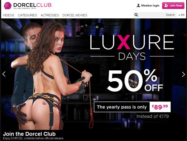 Clubdorcel Membership Discount