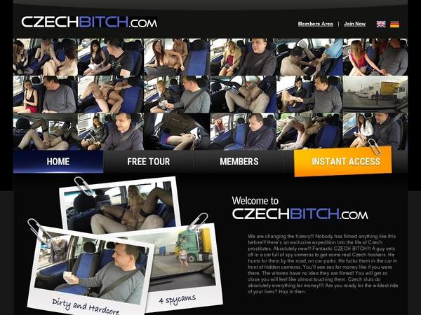 Czech Bitch Working Accounts