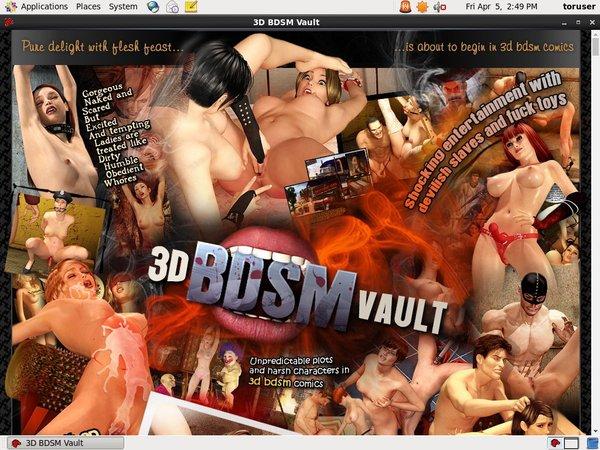 Signup 3D BDSM Vault Paypal