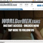 World Of Men Fans – Interracial Deal Offer