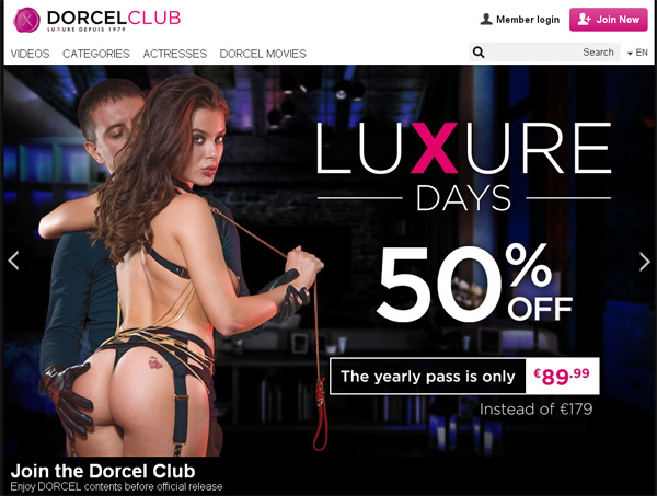 Dorcel Club Free Entry