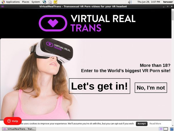 Virtualrealtrans.com Special Offer