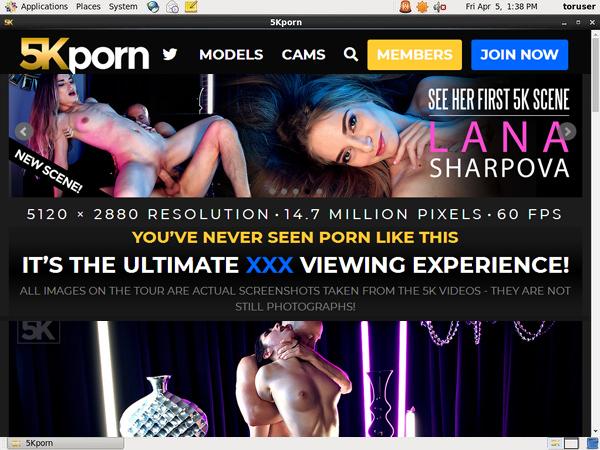Free 5kporn.com Acounts
