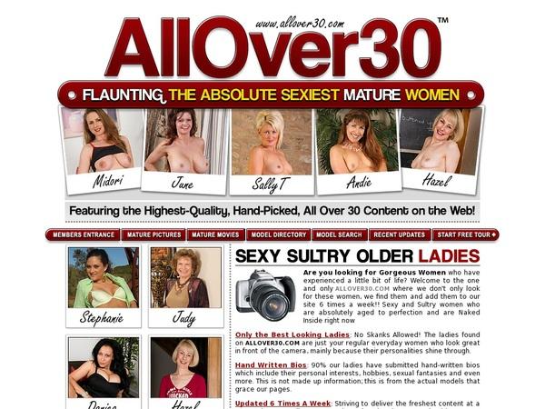 All Over 30 Original Discount Sale