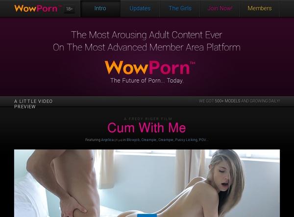 Wow Porn Anal
