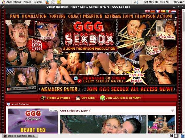 Free GGG Sex Box Id