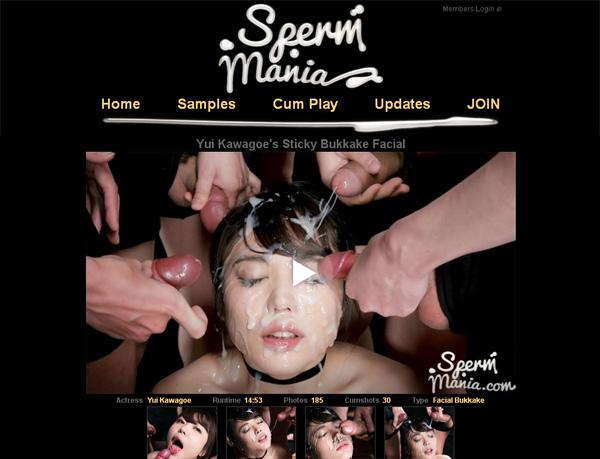 Sperm Mania Paypal Account