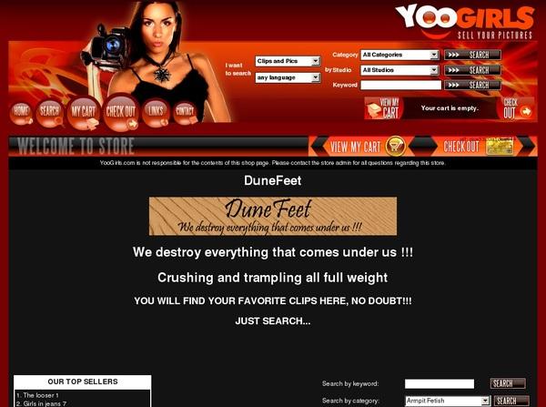 Yoogirls.com Web Billing
