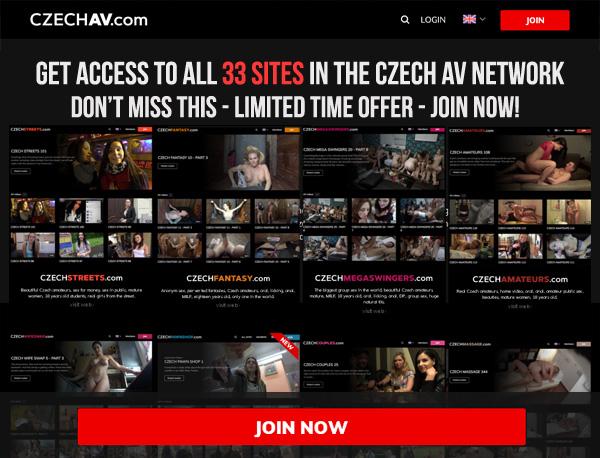 Join Czech AV For Free