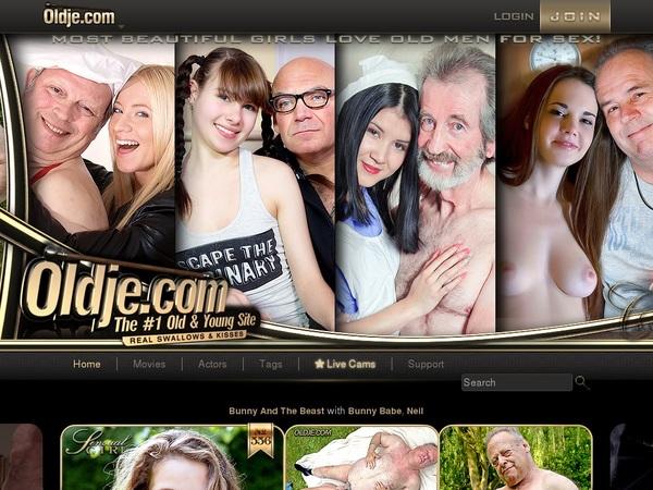 Oldje.com 로그인