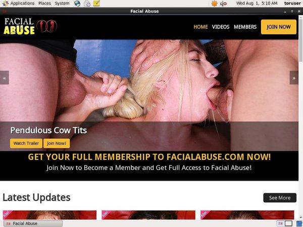 Facialabuse.com Paypal Sign Up