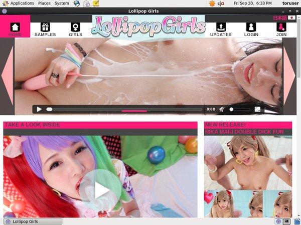 Lollipopgirls.jp With Pay Pal